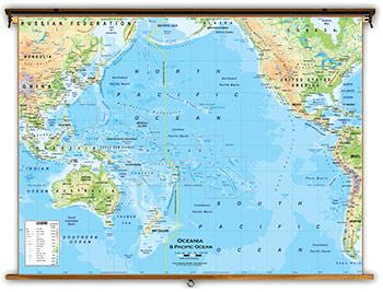 Map Of Australia Physical Features.Australia Oceania Continent Maps Academia Maps