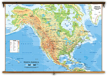 North America Continent Maps Academia Maps - North america maps