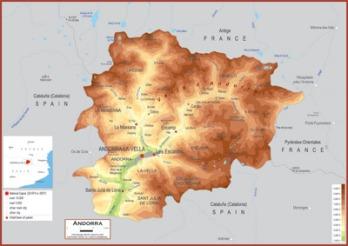 Andorra Maps Academia Maps