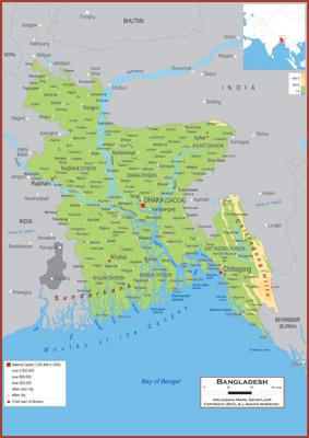 Bangladesh Maps Academia Maps