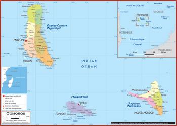 Comoros Maps Academia Maps