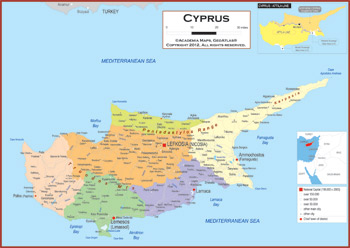 Cyprus maps academia maps political map key features gumiabroncs Images