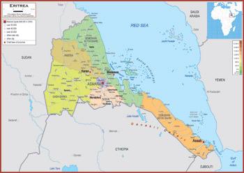 Eritrea Maps Academia Maps