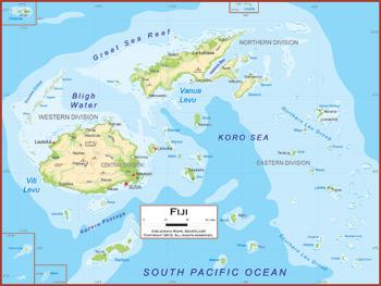 Fiji Maps Academia Maps - Fiji map