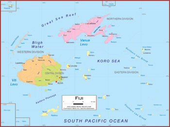 Fiji maps academia maps political map key features gumiabroncs Image collections
