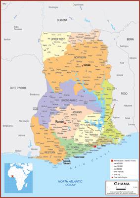 Ghana Maps Academia Maps