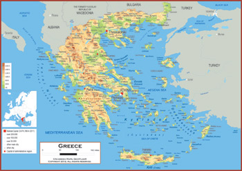 Greece Maps - Academia Maps