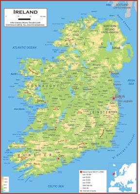 Ireland Maps Academia Maps