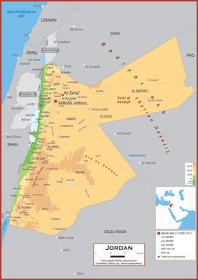 Jordan Maps Academia Maps