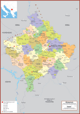 Kosovo maps academia maps kosovo maps gumiabroncs Choice Image