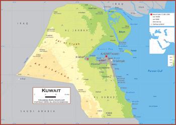 Kuwait maps academia maps kuwait maps gumiabroncs Gallery