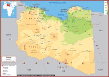 Libya Maps Academia Maps