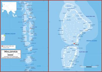 Maldives Maps Academia Maps