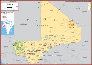 Mali Maps Academia Maps - Mali map