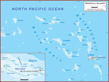 Marshall Islands Map Academia Maps - Marshall islands map