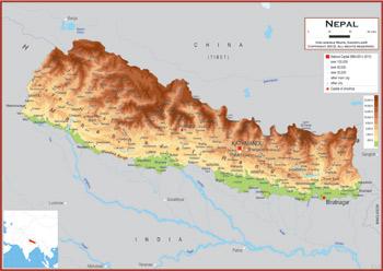 Nepal Maps Academia Maps
