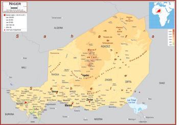 Niger Maps Academia Maps