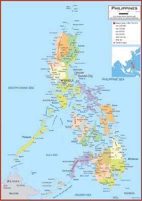 Philippines Maps Academia Maps