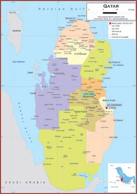Qatar Maps - Academia Maps