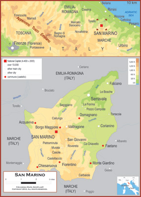 San Marino Maps Academia Maps