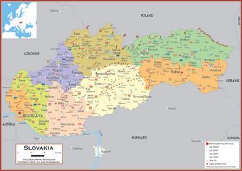 Slovakia Maps Academia Maps