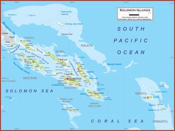Solomon Islands Maps Academia Maps