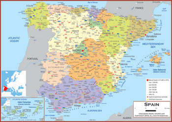 Spain Maps Academia Maps