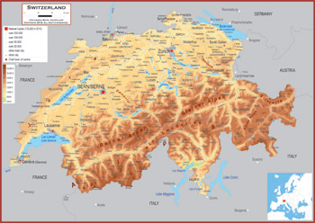 the major physical features of switzerland Switzerland county physical features, cultural features, historical features and indiana with maps and directions.