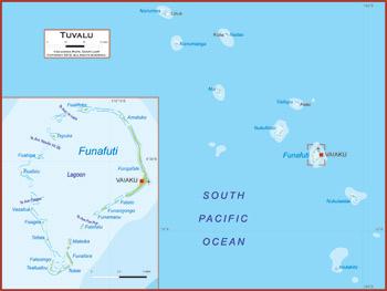 Tuvalu Map Academia Maps - Tuvalu map