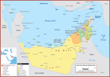 United Arab Emirates Maps - Academia Maps