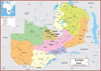 Zambia Maps Academia Maps