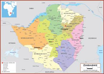 Zimbabwe Maps Academia Maps