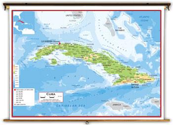 Cuba Maps Academia Maps - Political map of cuba