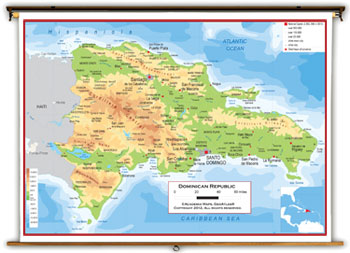 Dominican Republic Maps Academia Maps - Dominican republic map