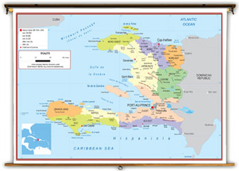 Haiti maps academia maps political map key features gumiabroncs Choice Image