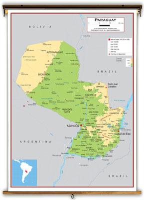 Paraguay Maps - Academia Maps