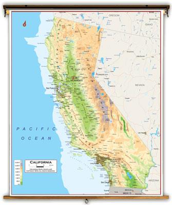 California State Maps Academia Maps