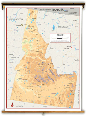Idaho State Maps - Academia Maps